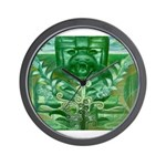 Olmec Were Jaguar  Wall Clock