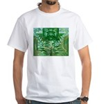 Olmec Were Jaguar White T-Shirt