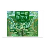 Olmec Were Jaguar  Postcards (Package of 8)