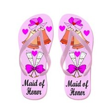 MAID OF HONOR Flip Flops