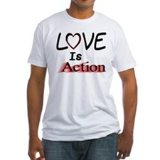 Love Is Action Shirt