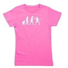 Fencing Evolution Girl's Tee