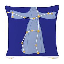 Andromeda Constellation Woven Throw Pillow