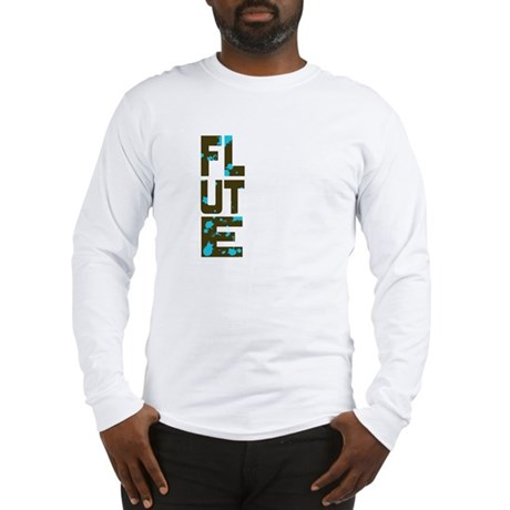 Asymmetrical Flute Long Sleeve T-Shirt