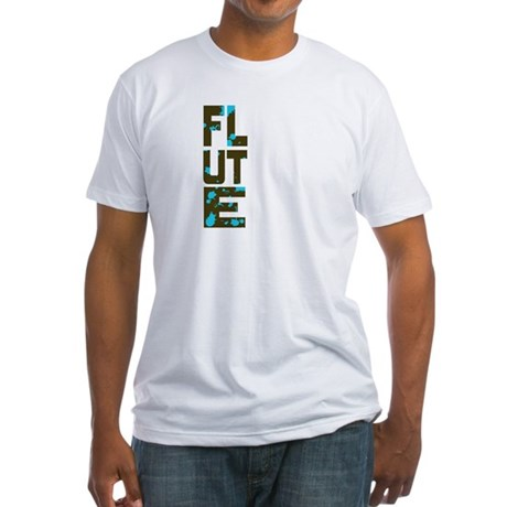 Asymmetrical Flute Fitted T-Shirt