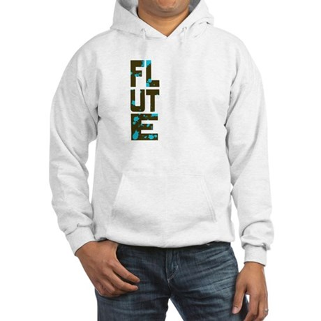 Asymmetrical Flute Hooded Sweatshirt