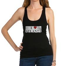 I Love Atlanta Racerback Tank Top