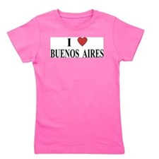 I Love Buenos Aires Girl's Tee