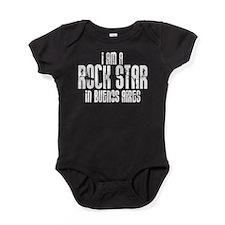 Rock Star In Buenos Aires Baby Bodysuit