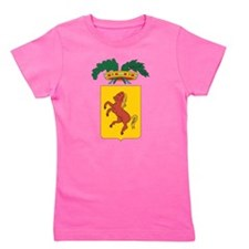 Naples Coat Of Arms Girl's Tee