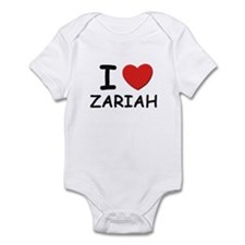 I love Zariah Infant Bodysuit