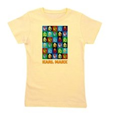 Pop Art Karl Marx Girl's Tee