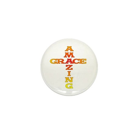 Amazing Grace Mini Button