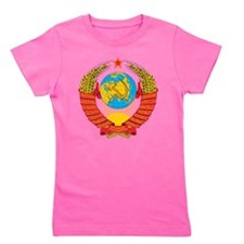 USSR Coat Of Arms Girl's Tee