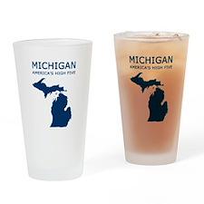MI_high5.jpg Drinking Glass