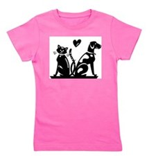catdog kid art.jpg Girl's Tee