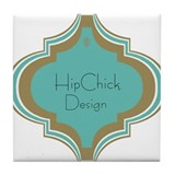 HipChic Design Tile Coaster