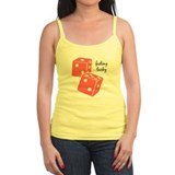 Lucky Dice - pink Tank Top