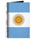 Flag Of Argentina Journal