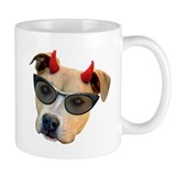Devil Dog Glasses Mug