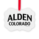 Alden Colorado Ornament