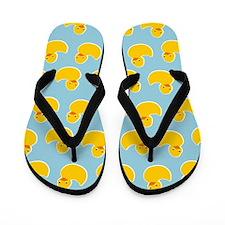 Cute Ducky Pattern Flip Flops