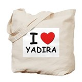 I love Yadira Tote Bag