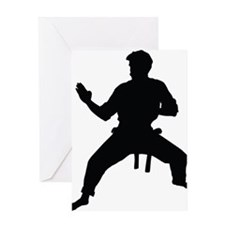 Karate Greeting Card