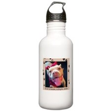 To err is human, to forgive, canine. Water Bottle