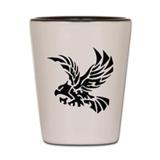Tribal Eagle Shot Glass