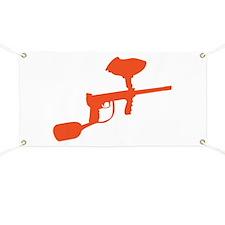 Paintball Gun Banner