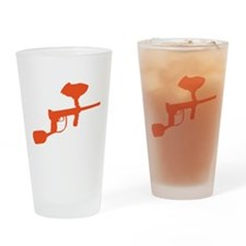 Paintball Gun Drinking Glass