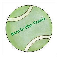Tennis Flat Cards
