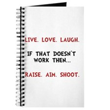Live Laugh Shoot Journal