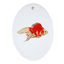 Ryunkin Goldfish Logo Ornament (Oval)