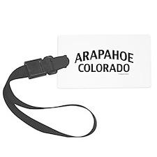 Arapahoe Colorado Luggage Tag