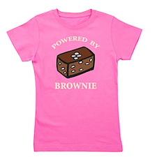 Powered By Brownie Girl's Tee