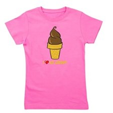 I Love Ice Cream Girl's Tee