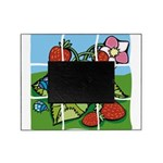 Strawberry Puzzle Picture Frame