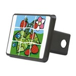Strawberry Puzzle Rectangular Hitch Cover