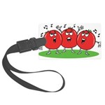 Singing Tomatoes Large Luggage Tag