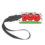 Singing Tomatoes Small Luggage Tag
