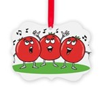 Singing Tomatoes Picture Ornament