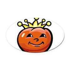 Tomato King Oval Car Magnet