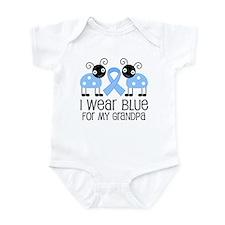 Grandpa Light Blue Awareness Infant Bodysuit