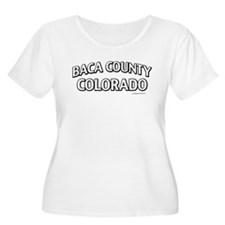 Baca County Colorado Plus Size T-Shirt