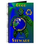 Eco-Warrior Save the World Journal