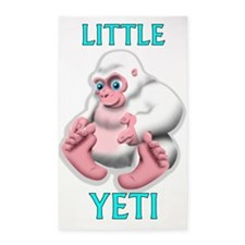 LITTLE YETI 3'x5' Area Rug