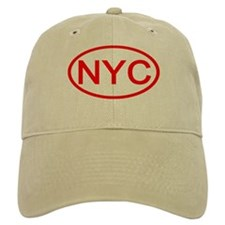 NYC Oval - New York City Baseball Cap