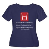 glass t Plus Size T-Shirt